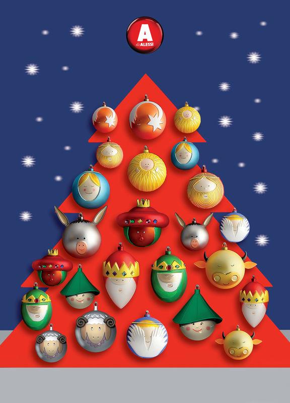 Alessi karácsonyfa díszek akár szettben is!