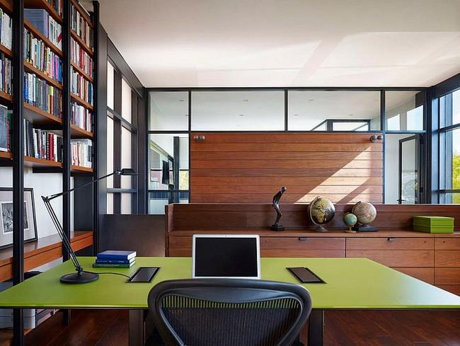 Oliva zöld íróasztal