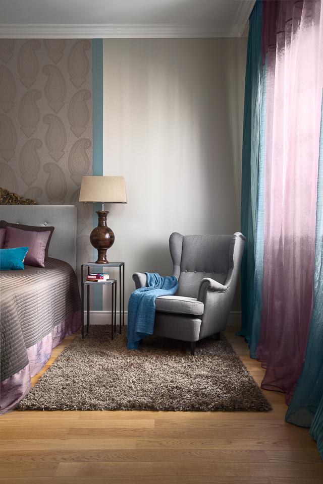 Frissen felújított polgári otthon új színekre hangolva