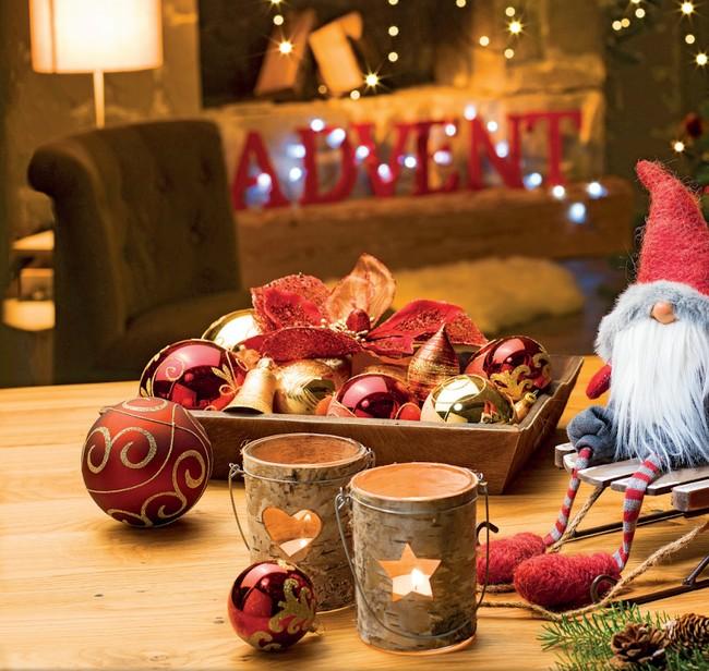 Asztali karácsonyfadíszek
