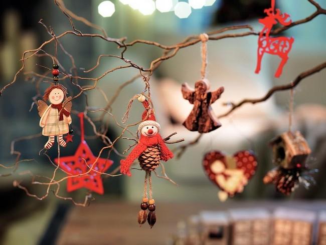 Karácsonyfadíszek angyalka