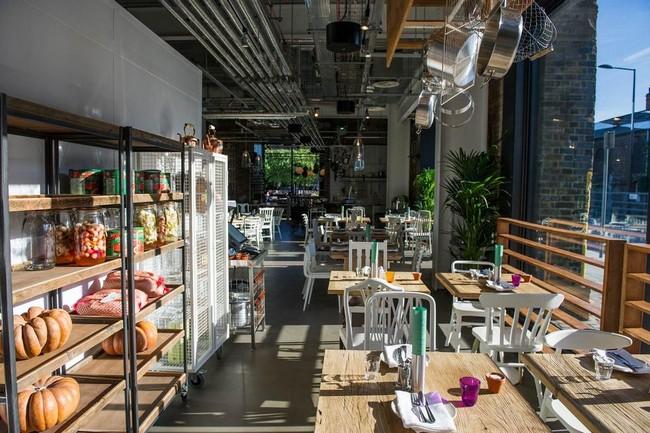 Grain Store étterem Londonban