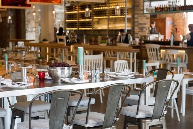 Xavier Pauchard szék étteremben az ipari stílushoz