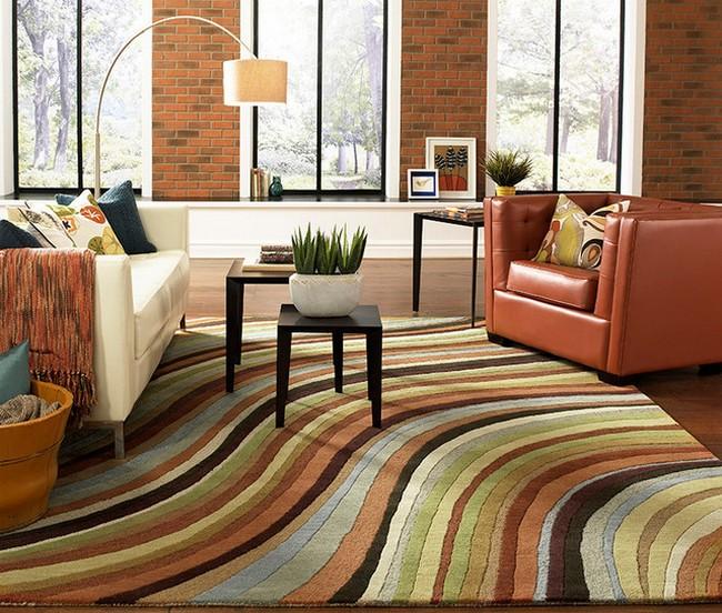 Csíkos surya szőnyeg