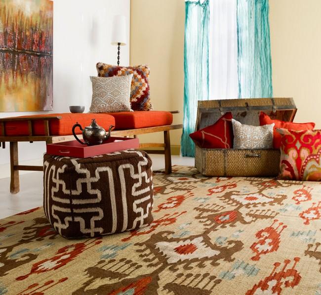 surya szőnyeg gyapjúból