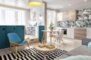 Fiatalos és lendületes skandináv stílusú stúdió apartman