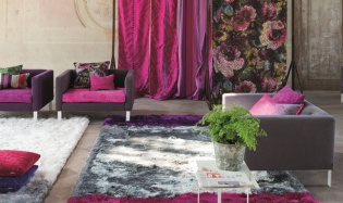 Designers Guild szőnyegek modern stílusú polgári otthonokba