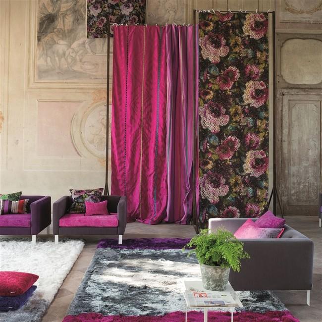 Designers Guild szőnyeg, függöny, lakástextil