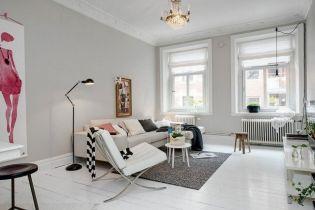 Friss és fiatalos csajos lakás Svédországból