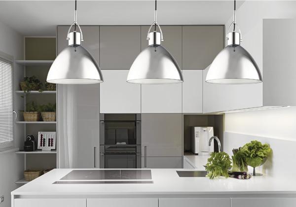 Mennyezeti lámpa konyhába