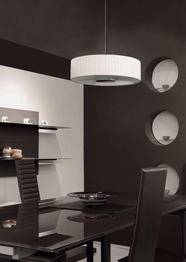 Lámpák az étkező és a konyhapult tökéletes megvilágításához