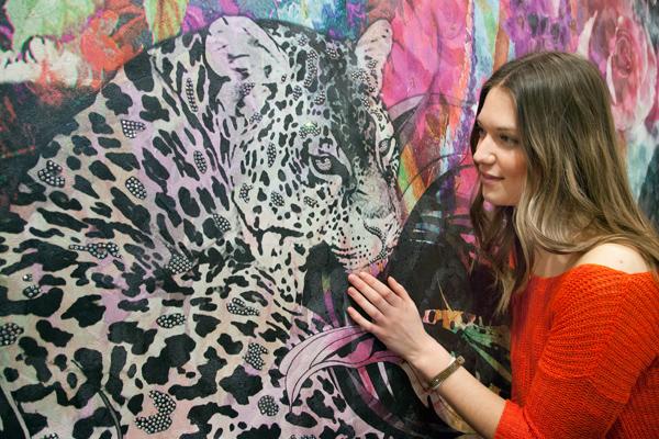 Állatmintás anyagok a Heimtextilen leopárd