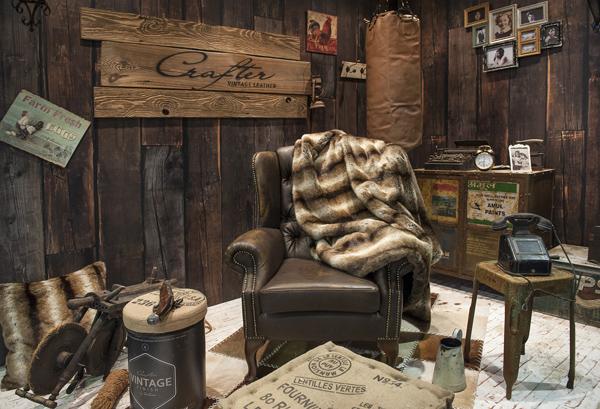 Vintage lakberendezés és műszőr lakástextil