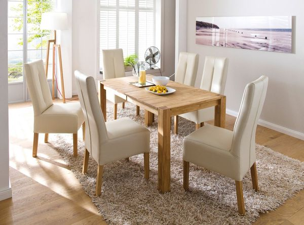 Fabian tömör bükk étkezőasztal összecsukható asztal