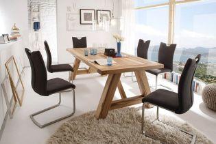Rendezd be az étkeződ tömör tölgy- és bükkfa asztalokkal