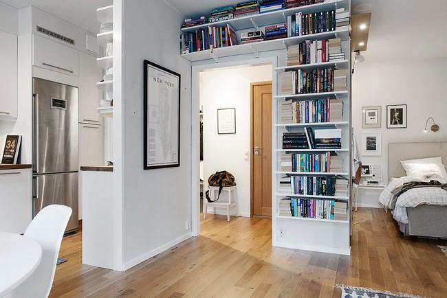 43 m2-es skandináv lakás