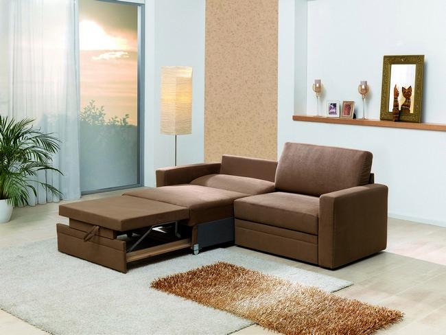 RIO 5942 kinyitható kanapé félig nyitott