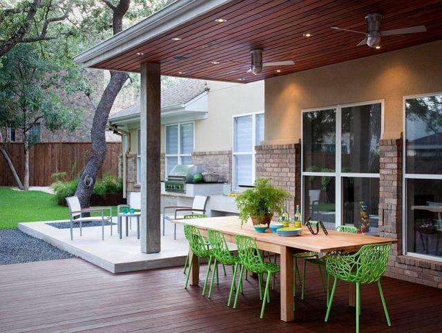 Pergol k s fedett teraszok kedvenc helyek a szabadban - Exterieur decoratie moderne tuin ...