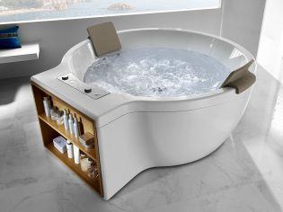 Fürdőszobai design csemege - Roca Circular hidromasszázs kád