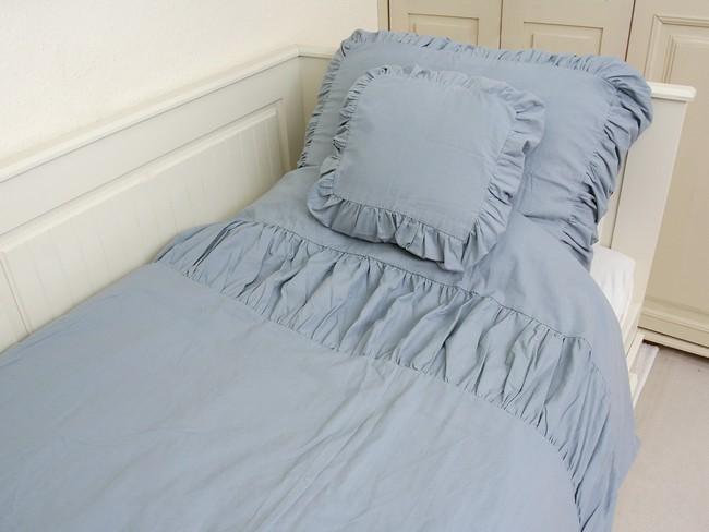 Romantikus Csipkelengye kék ágynemű