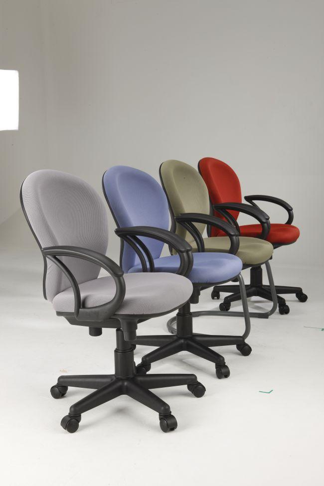 Színes görgős irodai szék Impala Székkirály