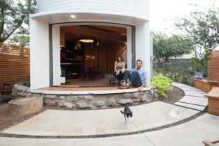 Gabonasilóból tervezett otthont egy amerikai építész