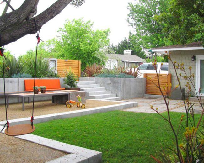 Állványos vagy fára szerelhető kerti hinta saját kezűleg