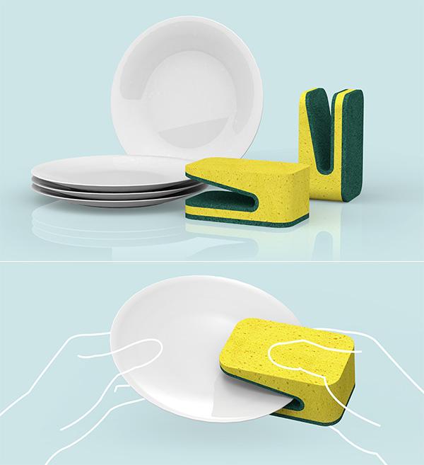 Ilyen egy design díjas mosogatószivacs