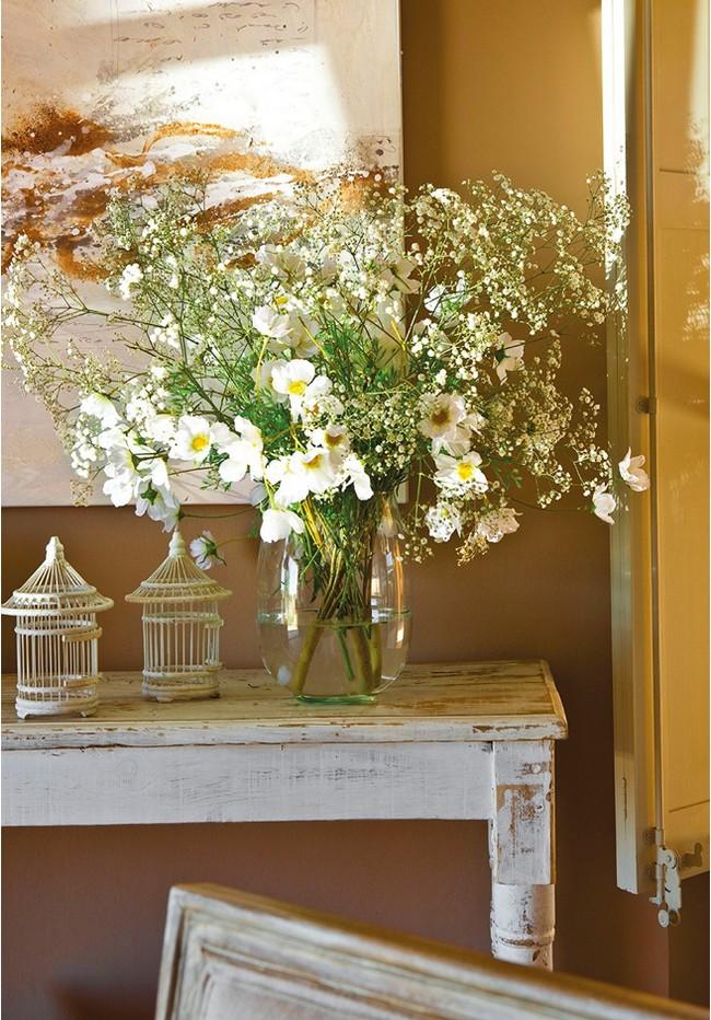 Virág üvegvázában