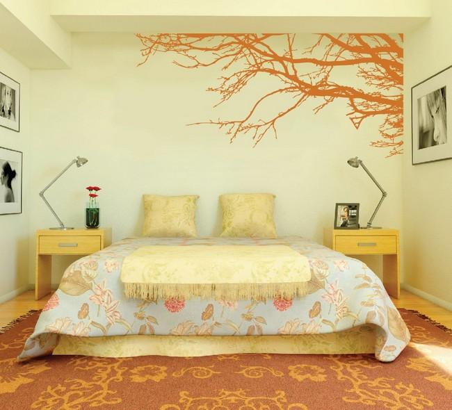 Tedd egyedivé a hálószobád egy jó falszínnel, tapétával ...