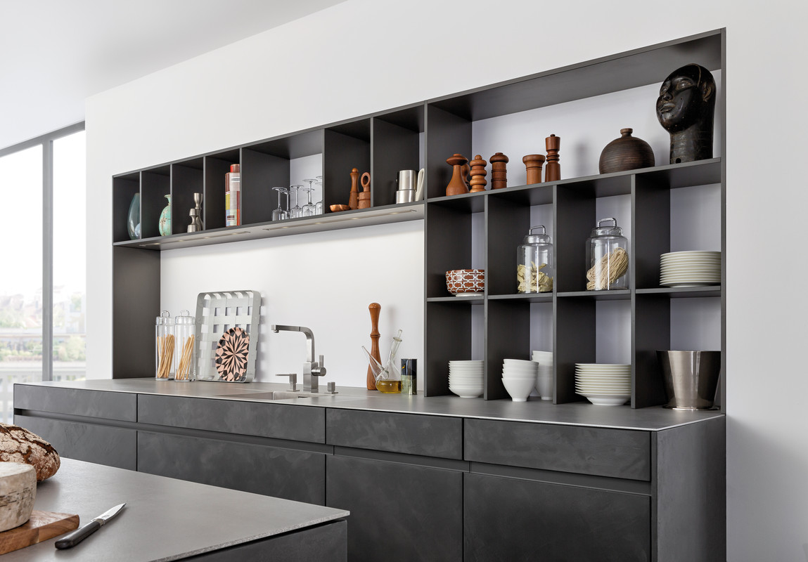 beton fel lettel k sz lt konyhab tort tervezett a leicht. Black Bedroom Furniture Sets. Home Design Ideas