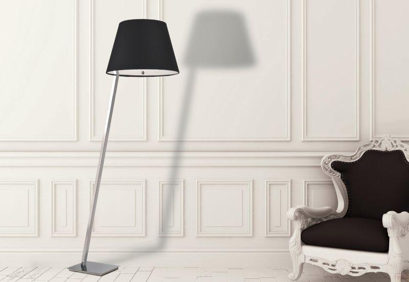 Maxlight Olsen fekete állólámpa