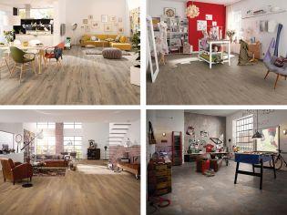 Vízálló laminált padlót is találsz az Egger új kollekciójában!