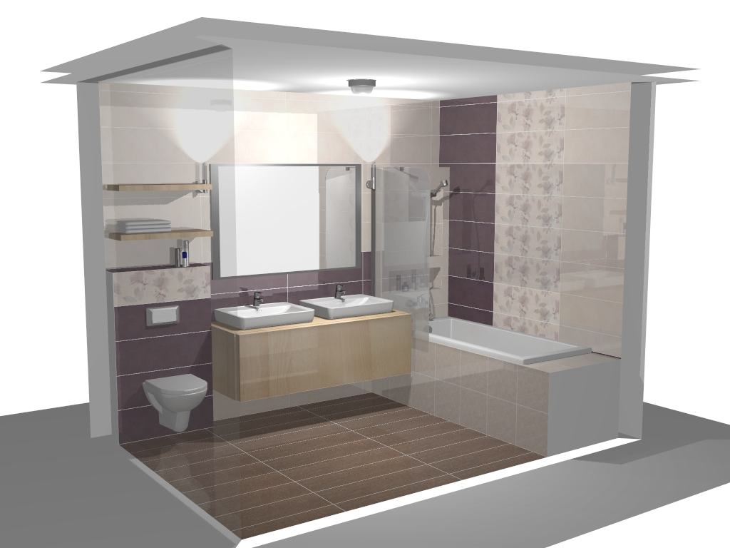 Kis fürdőszoba tervezés