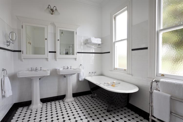 Art deco fürdőszoba inspiráció