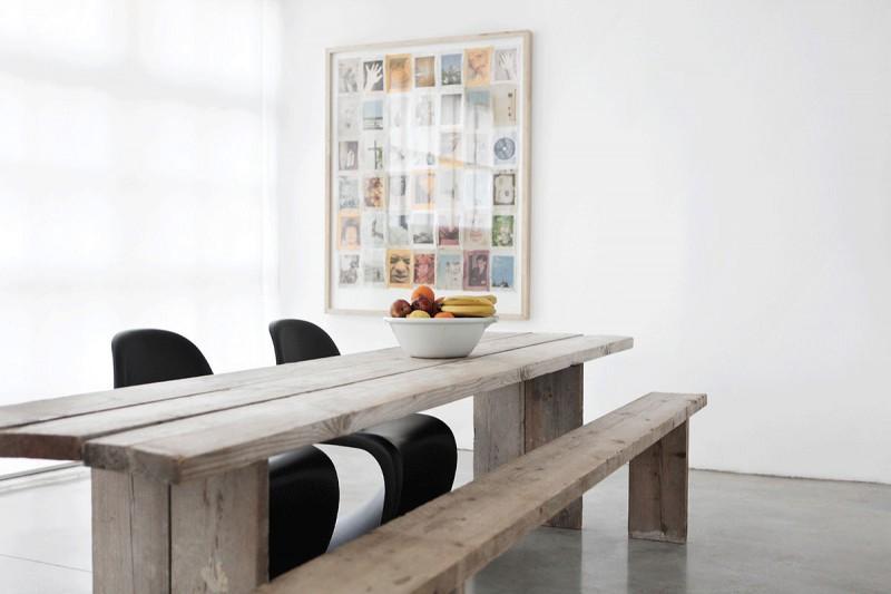 Étkezőpad és Panton székek