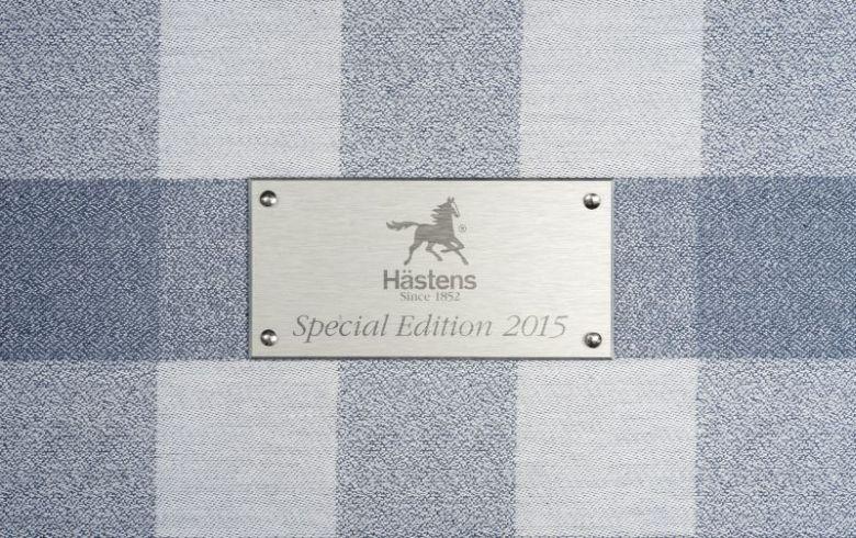 Hästens Ocean Blue ágy plakett