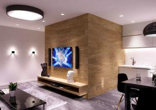 Ötletesen berendezett kis lakás, kényelmesen 30 m2-en