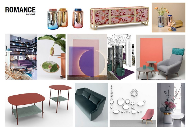 Romance IDdesign bútorok 2016 lakberendezési kiegészítők
