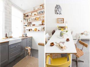 Lakberendezés és lakásdekoráció természetes színekkel, fával, textilekkel Hollandiából