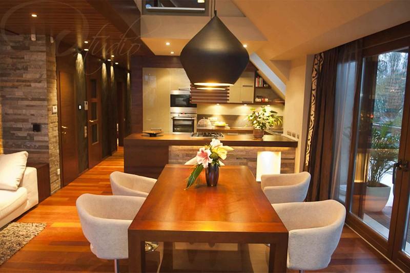 Nagy Rita lakberendező győr d-stúdió - balinéz hangulatú konyha