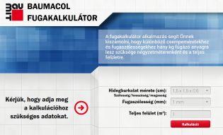 Burkoláshoz jól jöhet - A Fugakalkulátor kiszámolja az optimális fugázóanyag mennyiségét