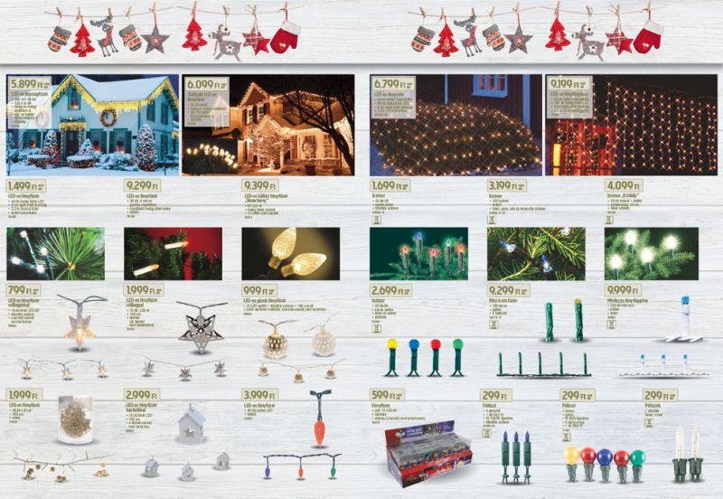 Hódít a műfenyő - a karácsonyi szezonra készül a Praktiker