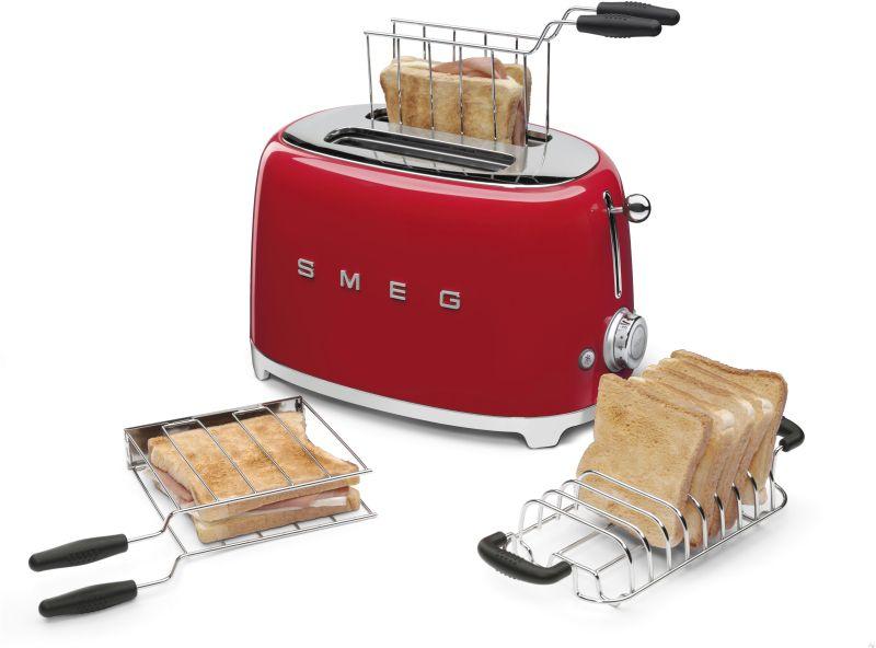 Smeg piros retro kenyérpirító
