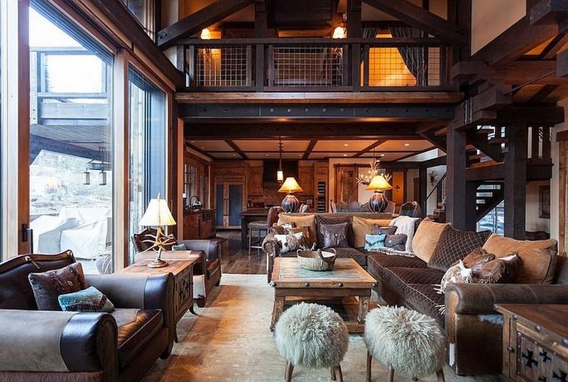 Különleges erdei szállás pazar rusztikus lakberendezési megoldásokkal