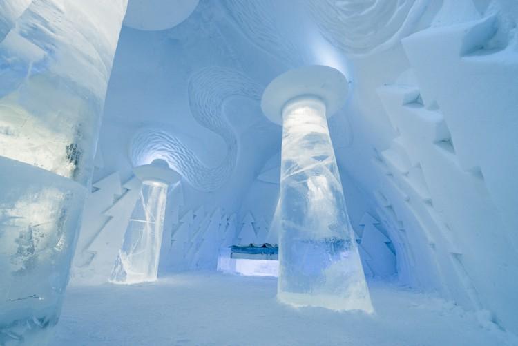 Svéd jéghotel