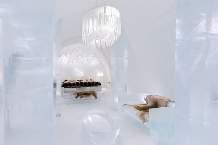 Icehotel lenyűgöző szállodai szoba
