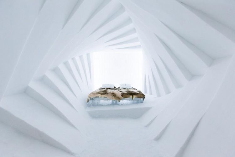 Jéghotel design szállodai szoba