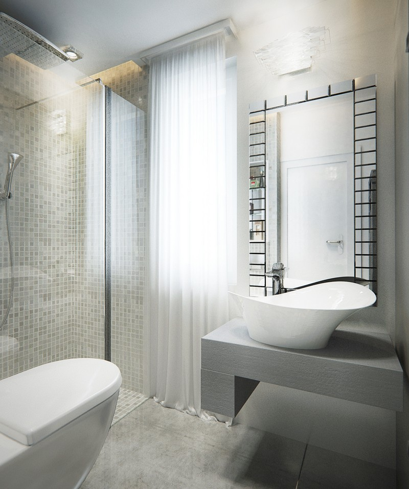 Zuhanyzóval kiegészülő fürdőszoba, Dóró Judit lakberendező