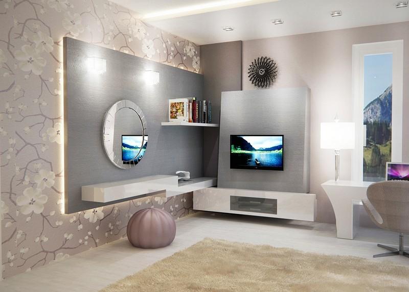 Luxus tiniszoba tv-vel